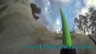 EZ Wash Wand GROOMING video, horse Grooming, dog grooming, pet grooming tool!
