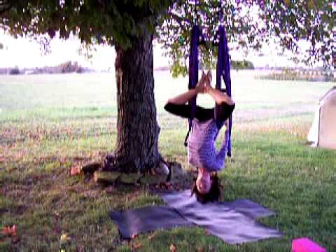 Yoga Swing Instruction How To Part 2 of 6 Pelvic Nest