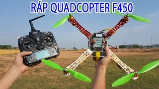 Hướng dẫn RÁP Quadcopter F450 - Mạch KK 2.1.5