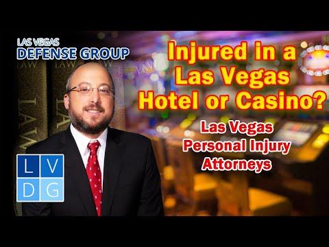 Injured at a Las Vegas Hotel or Casino? Nevada Injury Attorneys
