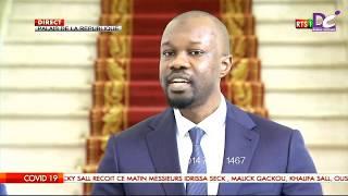 CORONAVIRUS :réaction de Ousmane Sonko aprés sa rencontre avec Macky Sall au palais