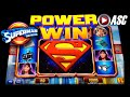 *NEW* SUPERMAN THE MOVIE | Aristocrat - Power Win! Lex Luthor Slot Machine Bonus
