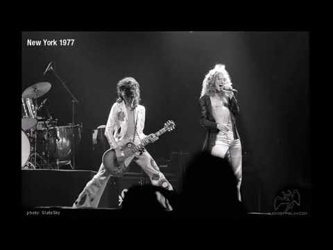 Led Zeppelin Live Madison Square Garden 1977 06 07 Youtube