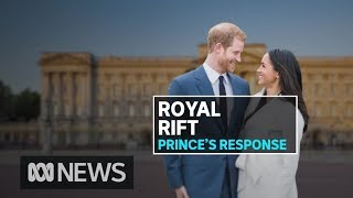 Prince Harry breaks silence on Royal stepdown | ABC News