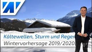 Wintervorhersage 2019/2020: Kältewellen, viel Sturm und Regen!