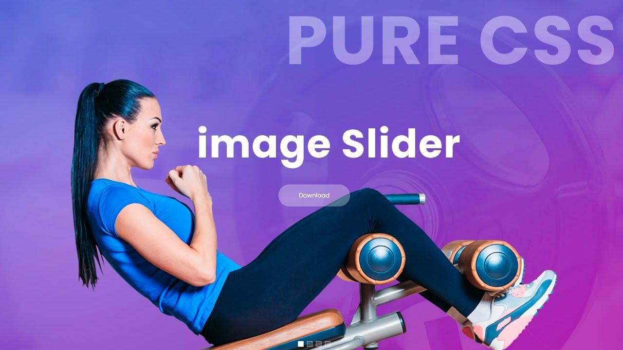 Pure CSS Responsive Image Slider For Web Design in HTML 5 CSS 3 - Web Design