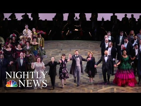 Houston Opera House Heals After Hurricane Harvey | NBC Nightly News