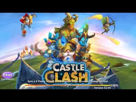 Castle Clash Ouverture D'une Carte De Hero Légendaire