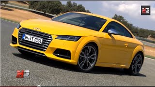 Audi tts coupe' 2014 - first test drive on track