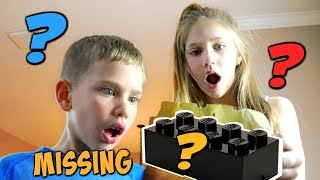 Treasure Hunt for the Missing Lego Piece! w LEGO BrickHeadz