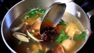 Tutorial - Spicy Shrimp Soup
