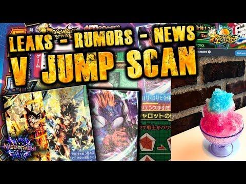 SSBKK Goku, Hit, Rose Possible LEAKS??  - V Jump Scans - Full Power Android 13 + Goku - DB Legends