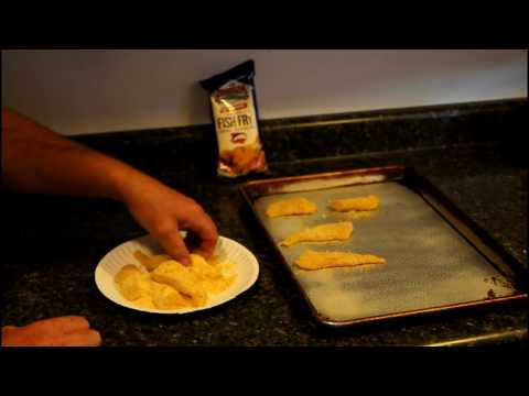 Oven Fried Walleye ( How To Make Crispy Breaded Fish In The Oven )