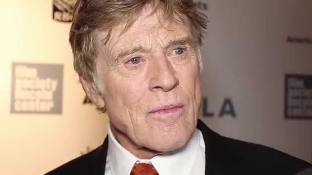 Robert Redford on The Chaplin Award Gala Red Carpet