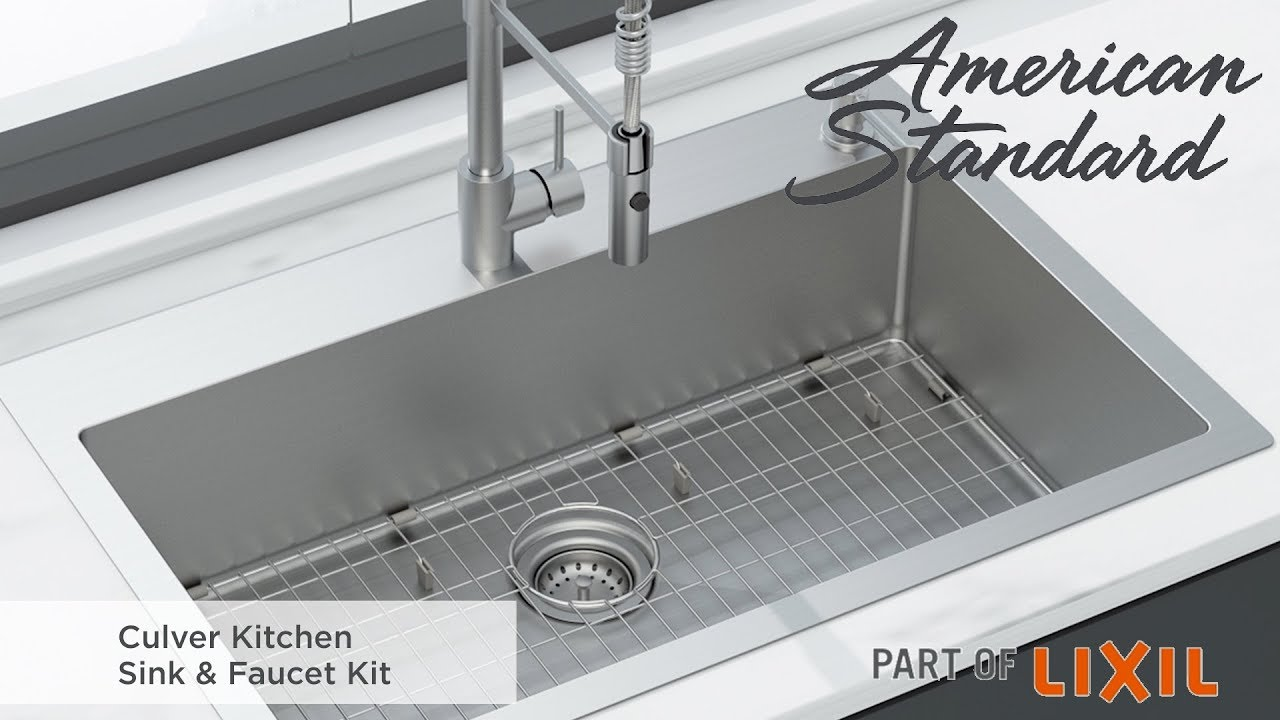 introducing the culver kitchen sink faucet kit by american standard