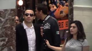 Canelo & Chavez Jr. recieve huge ovations at Houston Press Conference