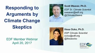 Responding to Arguments from Climate Change Skeptics Webinar