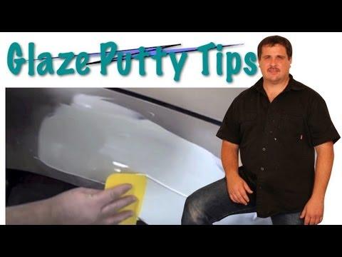 How To Use Putty Glaze Over Bondo