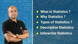 What is Statistics? | Types of Statistics | Descriptive & Inferential Statistics | Acadgild