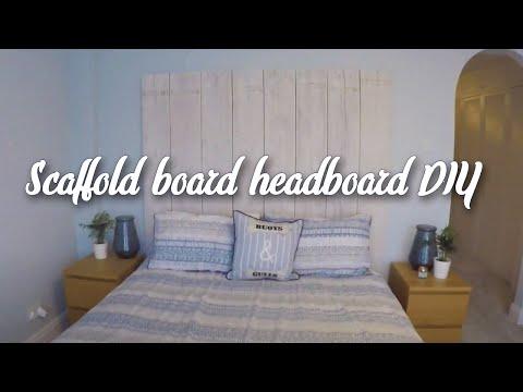 IKEA HACK - Malm bed with scaffold headboard