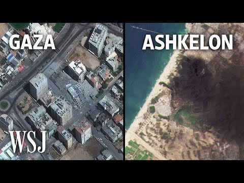 Israel-Gaza Conflict: What Satellite Images Tell Us About This Crisis | WSJ