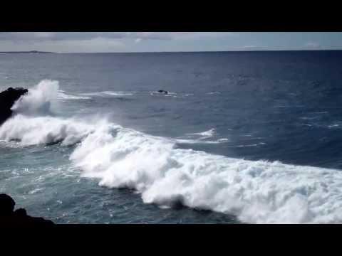 Lanzarote - Il Mare vicino a Los Hervideros 4 gennaio 2014