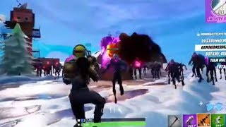 Waiting 4 Servers to get back up-HORDE RUSH ZOMBIES SQUADS! FORTNITE BATTLE ROYALE LIVE