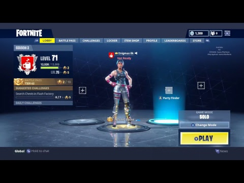 Xb1 851 Wins Rank 1 Solo Kills Fortnite Tracker Xbox Youtube