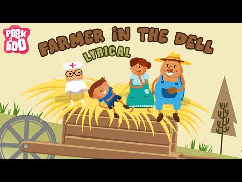 Farmer In The Dell Nursery Rhyme with Lyrics | Popular Nursery Rhyme With Lyrics for Kids