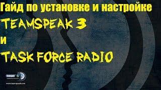 Гайд по установці та налаштування TeamSpeak 3 і Task Force Radio