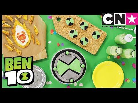 Ben 10 | How To Make Ben 10 Cake & Party Snacks | Cartoon Network thumbnail