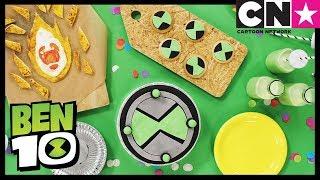 Video Ben 10   How To Make Ben 10 Cake & Party Snacks   Cartoon Network download MP3, 3GP, MP4, WEBM, AVI, FLV Agustus 2018