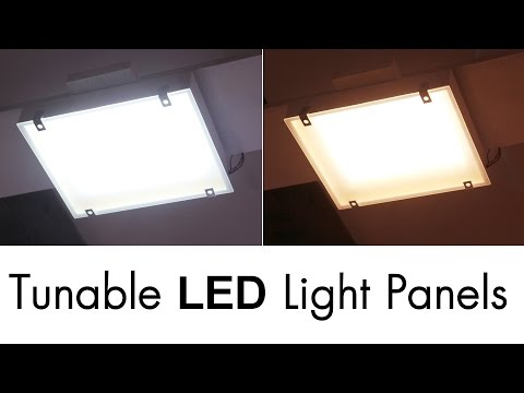 Super Bright Tunable LED Light Panels