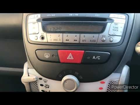 How to recharge AC gas in Peugeot 107 | car air conditioning fix |how to change air con fuse Peugeot