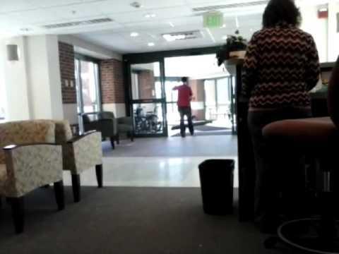 Inside Lancaster New Hampshire Hospital.