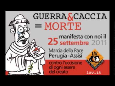Manifestazione contro la caccia – Domenica 25 sett. 2011 – Perugia-Assisi – Annuncio manifestazione