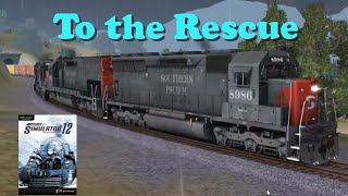 Trainz Simulator 12 [Gameplay1]: To the Resuce