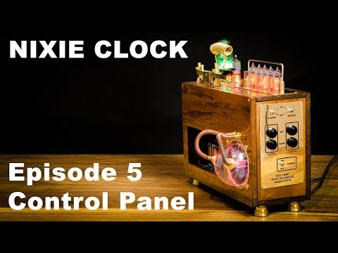 How To Make Nixie Clock - Episode 5 Control Panel (Photoresist)
