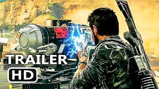 PS4 - Just Cause 4: Tornado Gameplay Trailer (2018)
