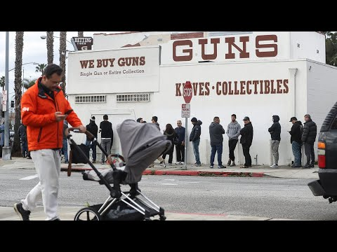 Americans panic buying guns and ammunition amid coronavirus pandemic