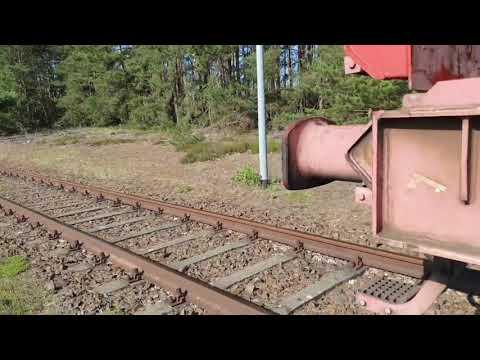 Tesla, GIGA BERLIN, june 27 / 2020 ++concrete beams delivered by train.++
