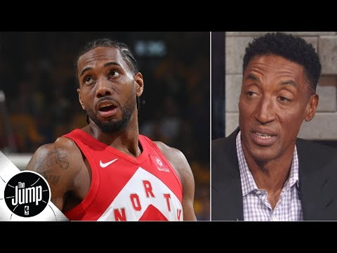 Kawhi Leonard should stay with the Raptors for one more year - Scottie Pippen   The Jump