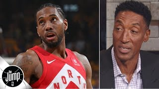 Kawhi Leonard should stay with the Raptors for one more year - Scottie Pippen | The Jump