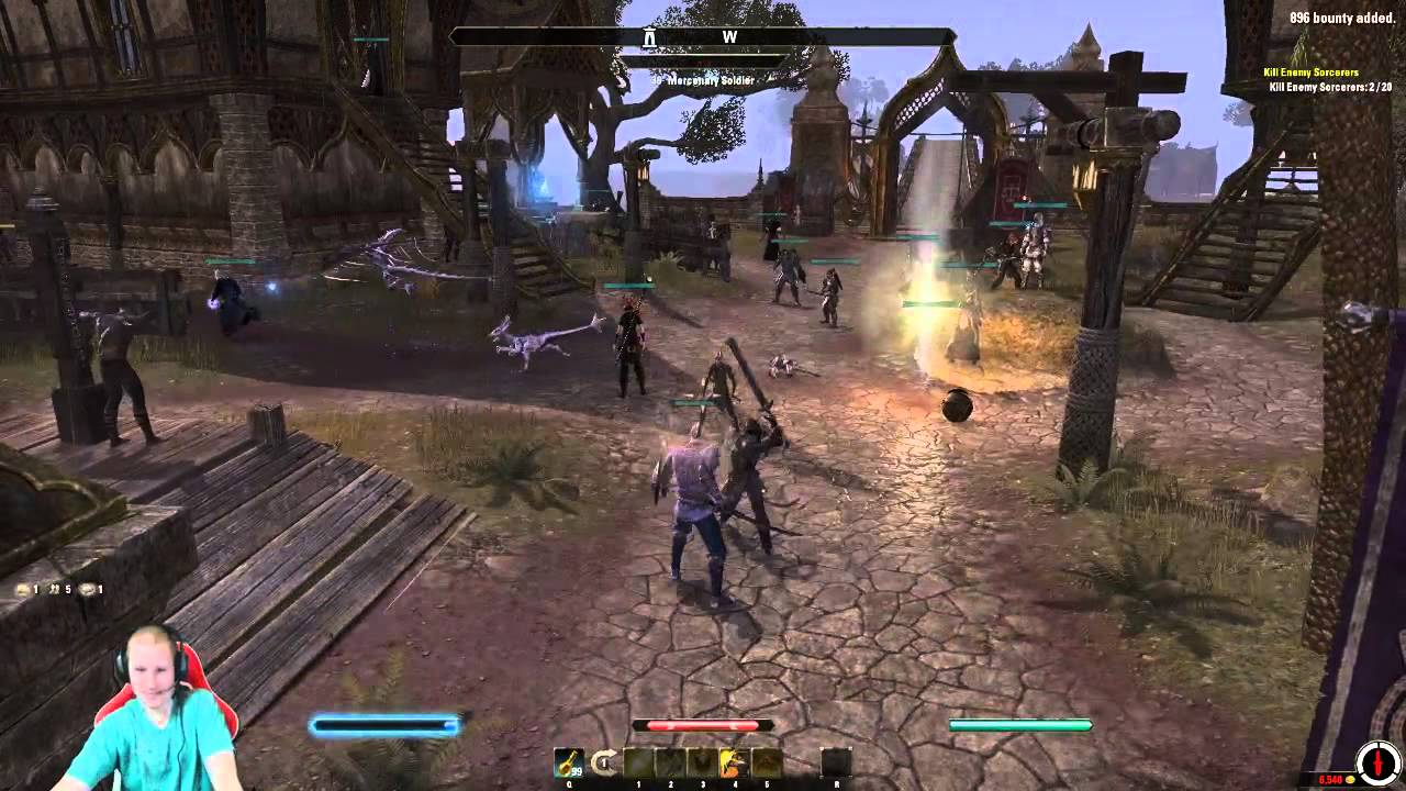 how to run elderscrolls online patcher