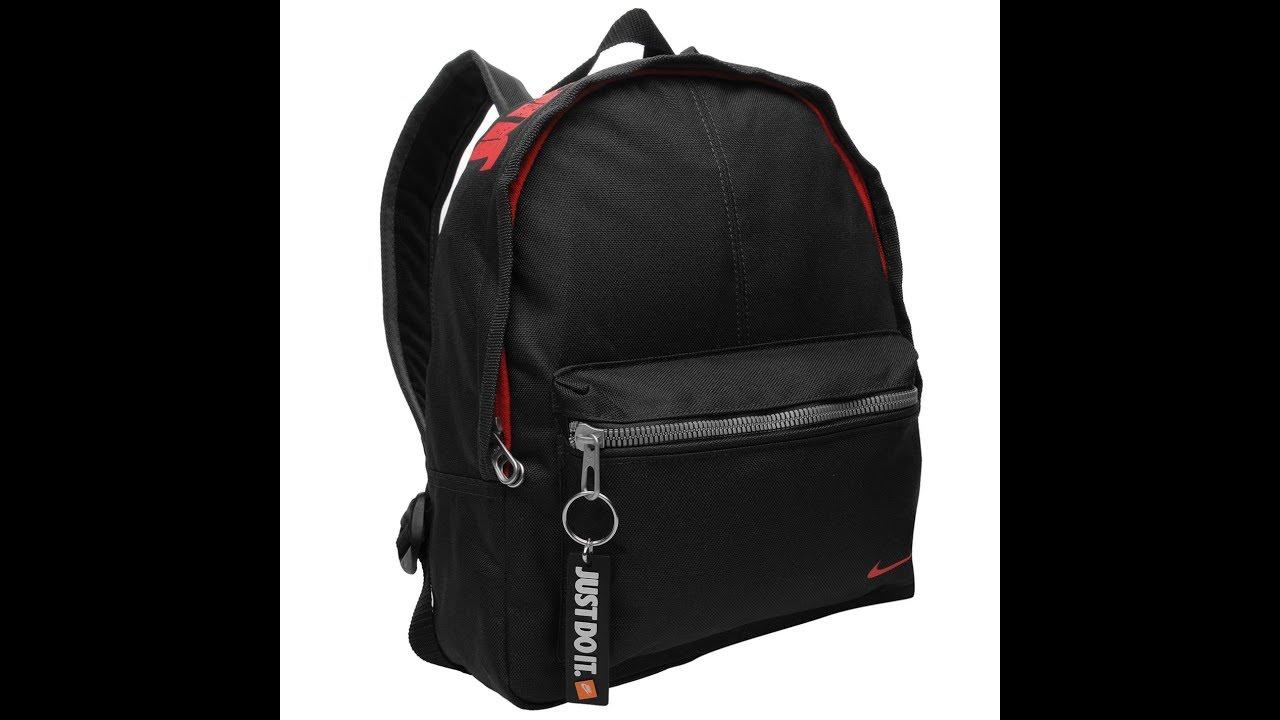 5b4d746f Обзор Рюкзак Nike Classic Mini Backpack - YouTube