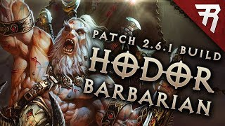 Diablo 3 2.6.1 Barbarian Build: HotA GR 113+ (Guide, Season 13, PTR)