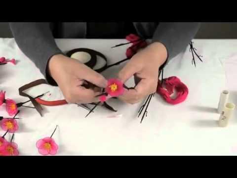 Hướng dẫn làm hoa anh đào  -- Kynangspk.Info