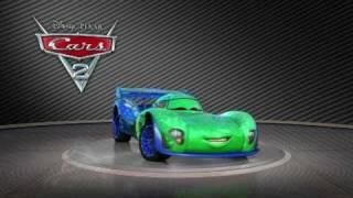 Disney Pixar CARS 2 - Carla Veloso Turntable