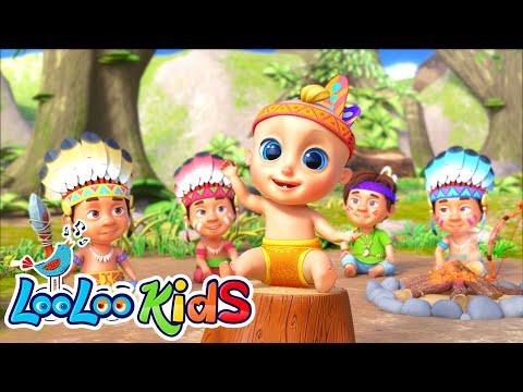 ????Ten Little Friends - Learn to Count 1-10 | LooLoo KIDS Nursery Rhymes