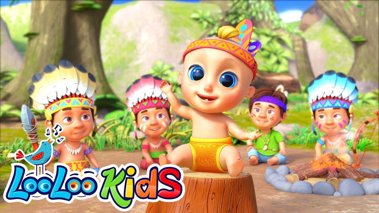 🧒Ten Little Friends - Learn to Count 1-10 | LooLoo KIDS Nursery Rhymes